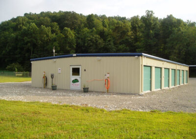 Exterior view of one of our storage buildings - Tin Roof Storage Solutions, Morehead, Kentucky