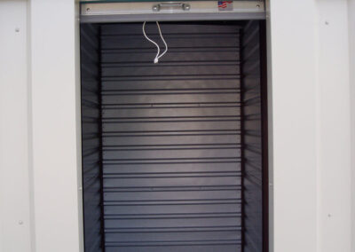 Our 5'x10' unit with 3' overhead door - Tin Roof Storage Solutions, Morehead, Kentucky