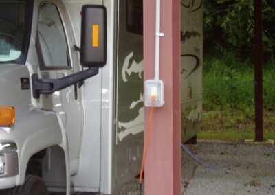 Power is available for parked units - Tin Roof Storage Solutions, Morehead, Kentucky