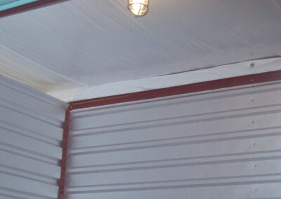 Interior Lighting is available for many units - Tin Roof Storage Solutions, Morehead, Kentucky