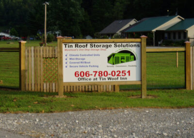 Tin Roof Storage Morehead Kentucky